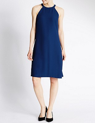 Shift Dress, RICH BLUE, catlanding