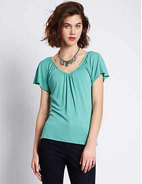 Modal Rich Short Sleeve Top