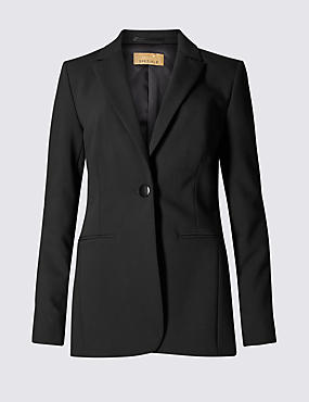 Speziale Long Sleeve 1 Button Blazer