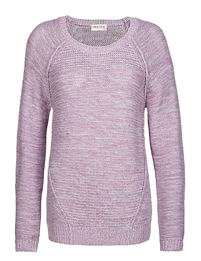 Pure Cotton Horizontal Reverse Knit Jumper Clothing