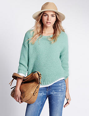 Tuck Stitch Jumper