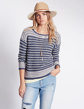 Loop Striped Jumper