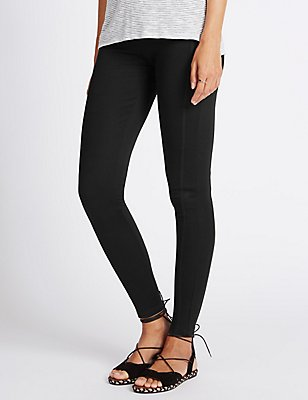 Ponte Leggings, BLACK, catlanding