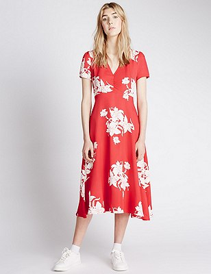 The Misty Dress, RED MIX, catlanding