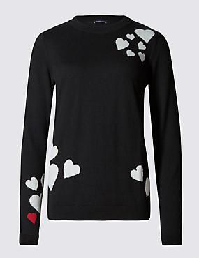 Heart Design Jumper