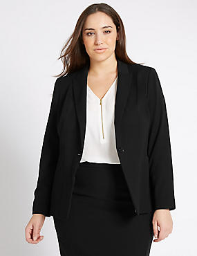 PLUS Notch Lapel Jacket