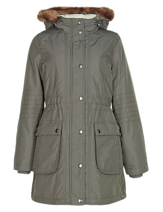 PETITE Hooded Parka with Stormwear™ Clothing