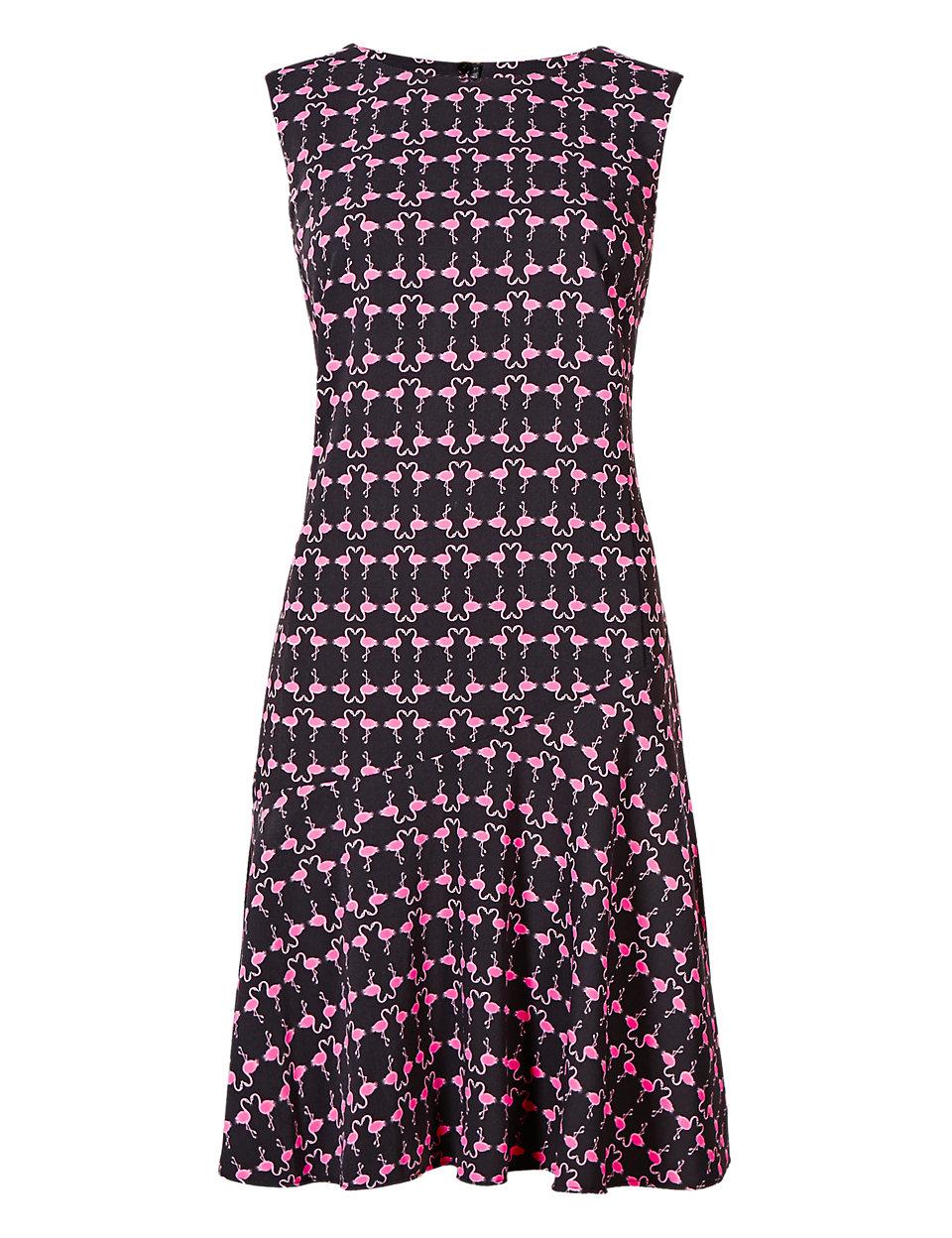 Conversational Print Skater Dress £45 from Marks & Spencer