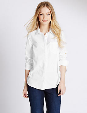 PETITE Pure Cotton Shirt
