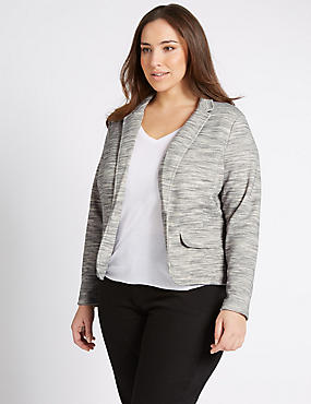 PLUS Open Front Blazer