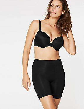 Light Control Sheer Thigh Shimmer, BLACK, catlanding