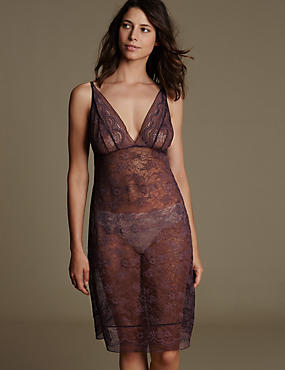 All-Over Lace Full Slip