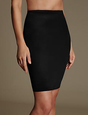 Firm Control Body Solutions Pencil Skirt Waist Slip