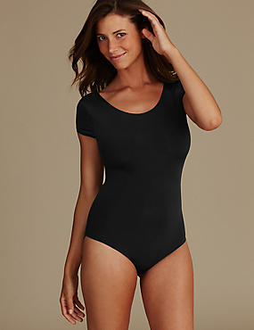 Light Control All Over Smoothing Body, BLACK, catlanding