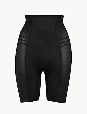 Gaine à maintien ferme et motif géométrique, dotée de la technologie Magicwear™, NOIR, catlanding
