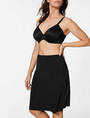 Waist Slip with Cool Comfort™ Technology, BLACK, catlanding