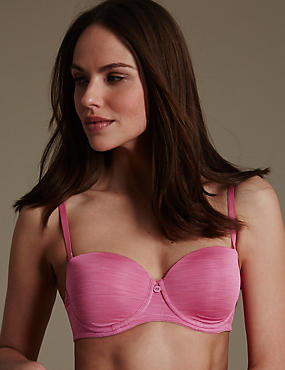 Strata Strapless Bra A-DD, ANTIQUE ROSE, catlanding