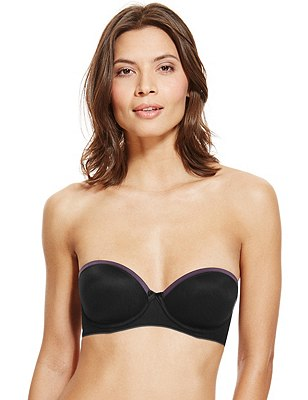 Sumptuously Soft Padded Multiway Bra A-D, BLACK MIX, catlanding