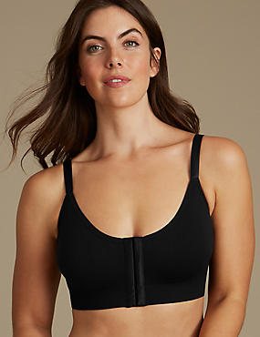 Padded Full Cup T-Shirt Bra A-E, BLACK, catlanding