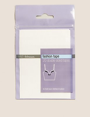 20 Pack - Fashion Tapes, CLEAR, catlanding