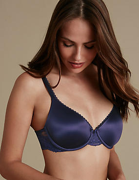 Soutien-gorge invisible ampliforme Perfect Fit, bonnets emboîtants AàE, INDIGO, catlanding