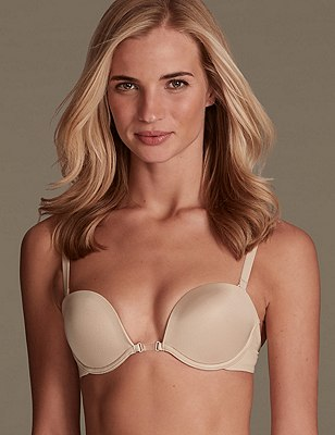 100 Ways To Wear Multiway Bra A-DD with Low Back Converter, NATURAL, catlanding