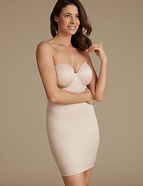 Secret Slimming™ Medium Control Full Slip A-E, ALMOND, catlanding
