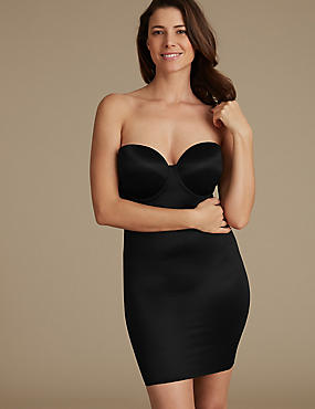 Secret Slimming™ Medium Control Full Slip A-E, BLACK, catlanding