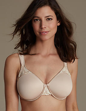 Spacer Padded Underwired Full Cup Bra C-G