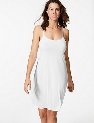 Reversible Full Slip with Cool Comfort™ Technology, WHITE, catlanding