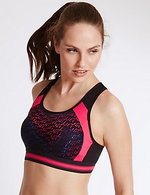 Infin8 High Impact Full Cup Sports Bra A-E, BLACK MIX, catlanding