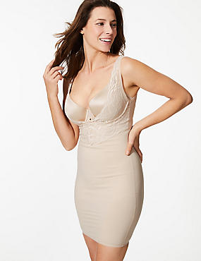 Firm Control Smoothlines™ Full Slip, ALMOND, catlanding
