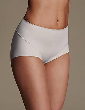 2 Pack Light Control No VPL Full Brief Knickers