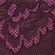 Culotte emboîtante à maintien ferme, ornée de dentelle fleurie, CASSIS, swatch