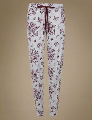"Пижамные брюки с манжетами ""Бабочки"" от Marks & Spencer"