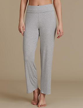 Bas de pyjama coupe droite, GRIS, catlanding