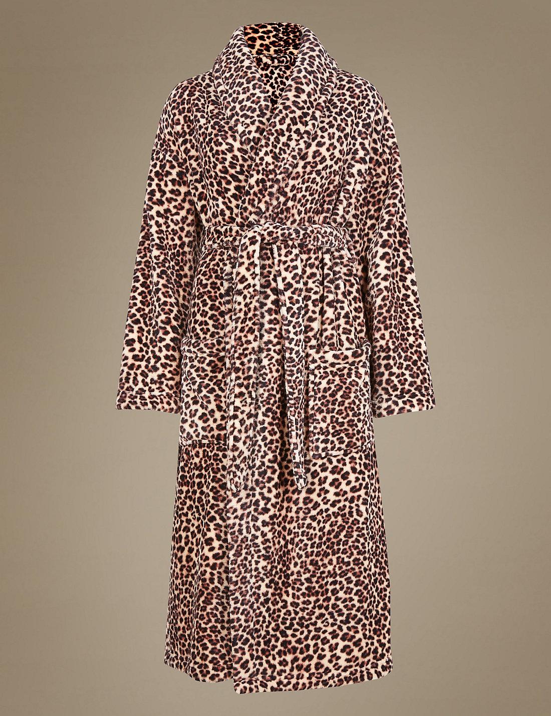 Leopard Skin Dressing Gown - Leopard Image HD