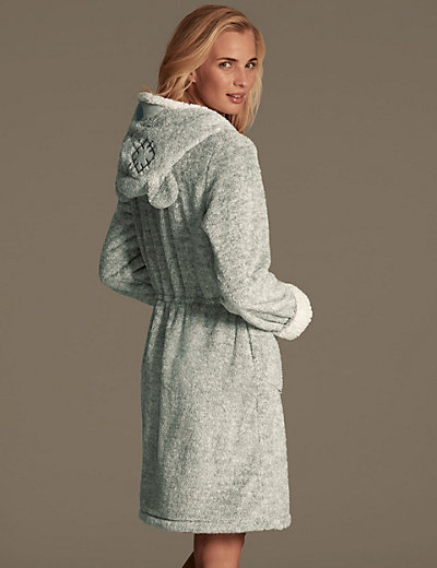 Hooded Fleece Dressing Gown - Best Gowns And Dresses Ideas & Reviews