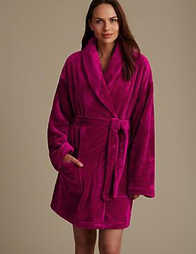 Shimmer Dressing Gown, MAGENTA, catlanding