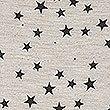 Star Print Short Sleeve Nightdress, GREY MIX, swatch