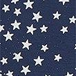 Star Print Glitter Short Sleeve Nightdress, NAVY MIX, swatch