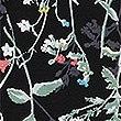 Floral Print Ruffle Sleeve Nightdress, BLACK MIX, swatch