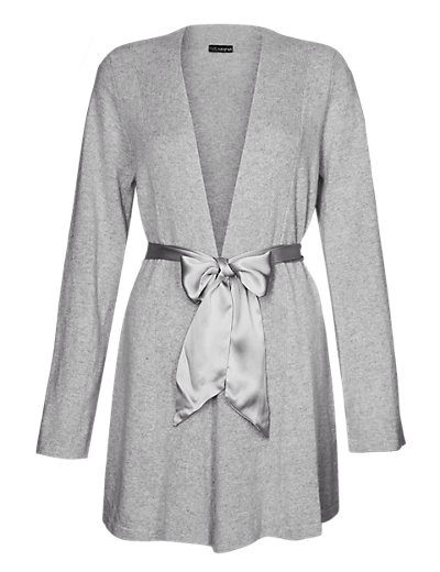 eb520547fe Luxurious Pure Cashmere Short Wrap - Short dressing gown