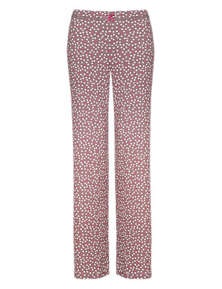 Scattered Spotted Pyjama Bottoms Clothing