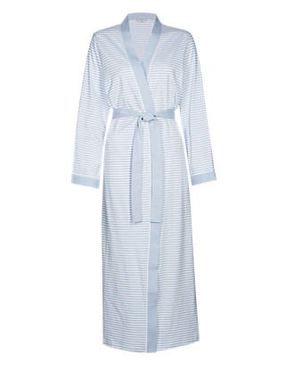 Pure Cotton Dressing Gown with Cool Comfort™ Technology Clothing