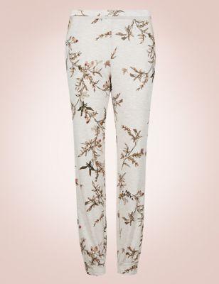 Пижамные брюки с манжетами и растительным принтом Rosie for Autograph T376801Q