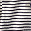 Striped Belted Long Wrap with Modal, BLUE MIX, swatch