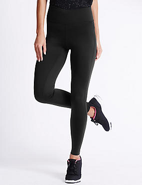 Performance Leggings, BLACK, catlanding