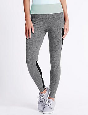 Performance Marl Leggings, GREY MARL, catlanding