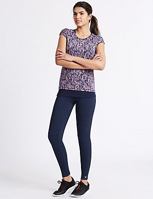 Active Leggings, NAVY MIX, catlanding